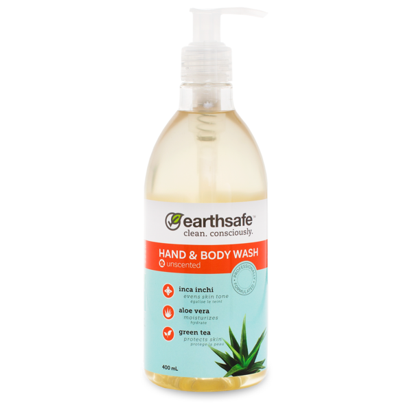 EARTHSAFE EARTHSAFE HAND & BODY WASH UNS 400ML