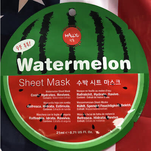 HALLYU SHEET MASK WATERMELON
