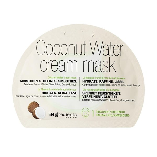 IN.GREDIENTS COCONUT WATER CR MASK 20ML