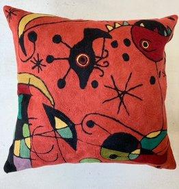 Natural Habitat Natural Habitat chainstitch pillows