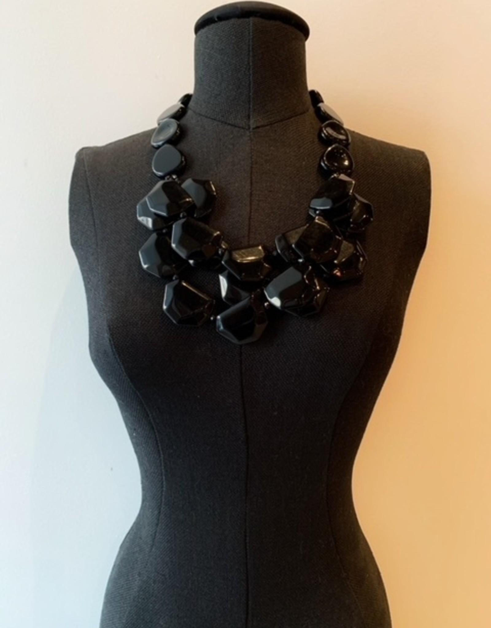 Bella multi bead necklace