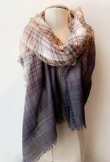 Saachi 119721 denim tone scarf