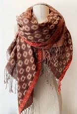 Saachi vibrant colored scarf