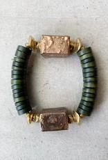 Bella stretchy beaded bracelet