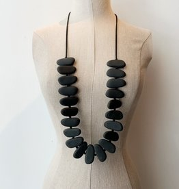 Escape from Paris Escape from Paris black matte necklace