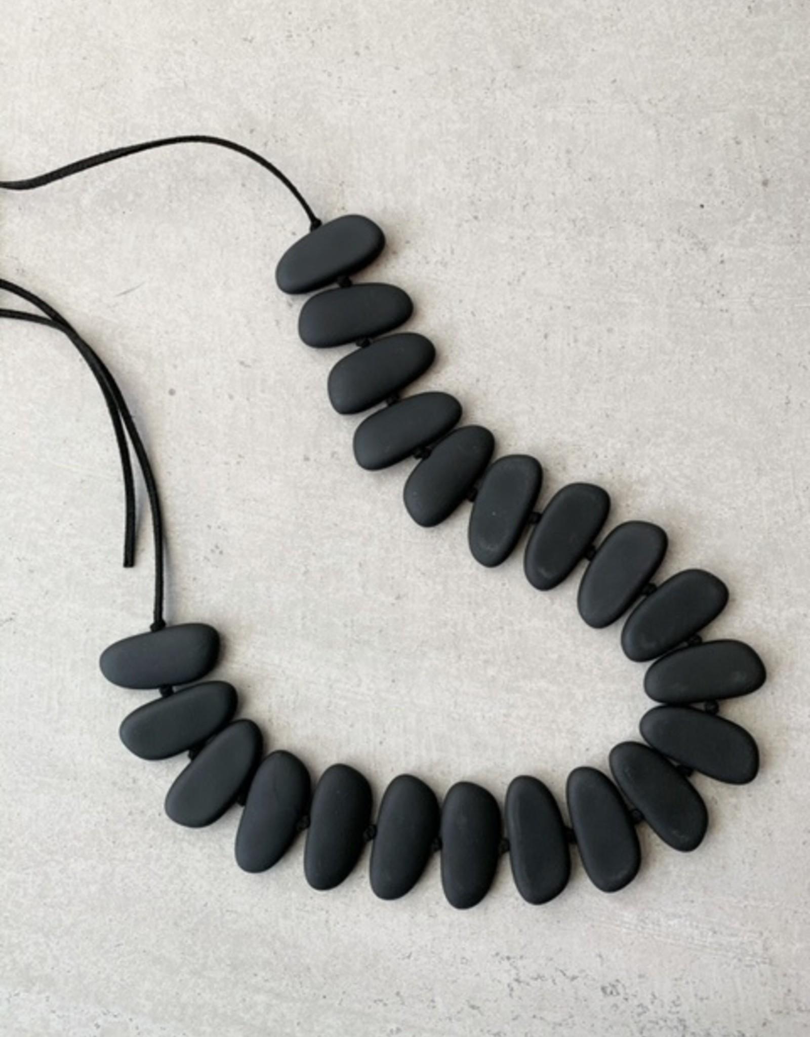 Escape from Paris Escape from Paris black matte necklace