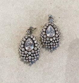 Theia Theia crystal earrings