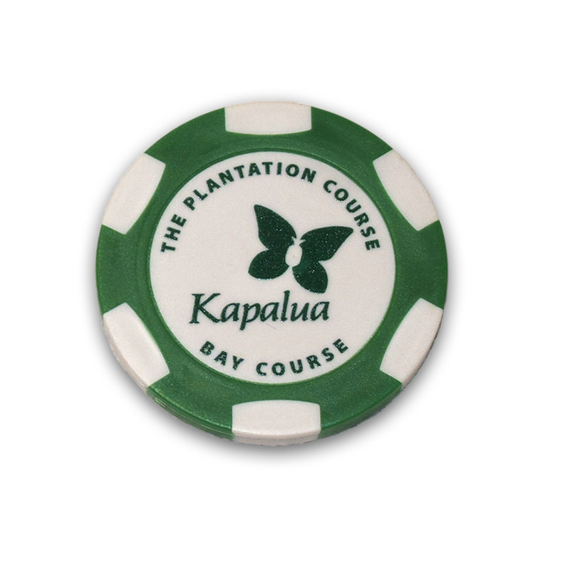 AHEAD KAPALUA POKER CHIP WITH MARKER more colors