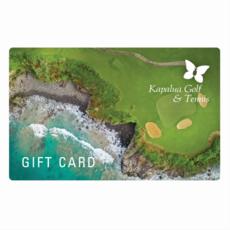 Kapalua Golf Gift Card $50