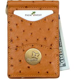 PALM WEST SALES KAPALUA LEATHER  MONEY CLIP  more colors