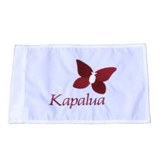 PRESTIGE FLAG KAPALUA EMBROIDERED SOLID PIN FLAG