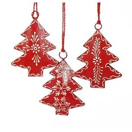 Metal Tree Ornament