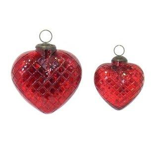 Diamond Heart Ornament