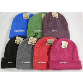 Alpaca Fleece Lined Hats
