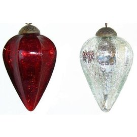 Glass Drop Ornaments