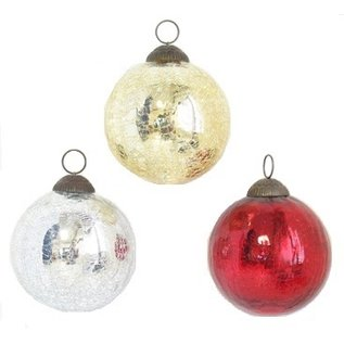 Solid Glass Ball Ornaments