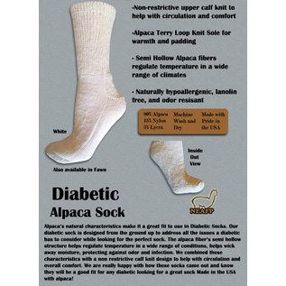 Alpaca Gentle Touch Diabetic Socks