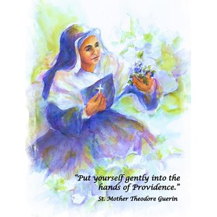 Mother Theodore Watercolor Notecard