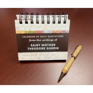 Saint Mother Theodore Guerin Perpetual Calendar
