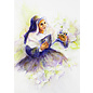 St. Mother Theodore Guerin Watercolor Print T-Shirt