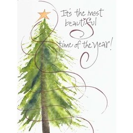 Pkg. Christmas Cards - Most Beautiful Time, Set of 10