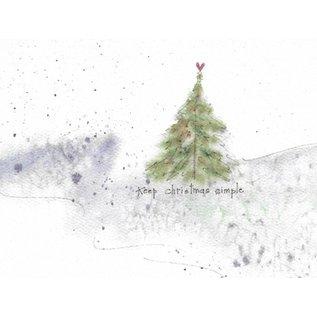 Package  Christmas Cards - Keep Christmas Simple, Set of 10
