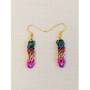 Handmade Chainmaille Mother Theodore Earrings