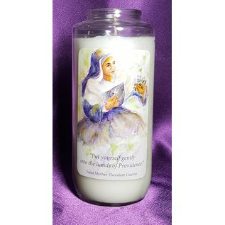"St. Mother Theodore 6.5"" Devotional Candle"