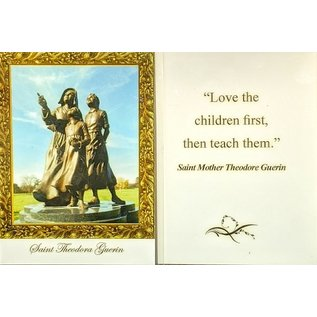 Prayer Card - Mother Theodore - Love the Children First