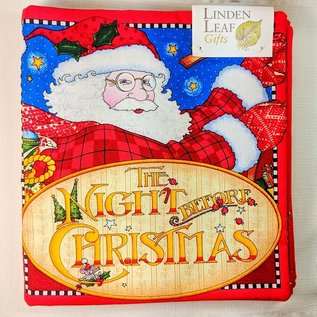 The Night Before Christmas  - Cloth Book by Sisters of Providence Sewing Room