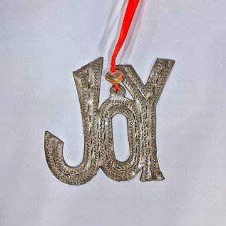 Joy Metal Ornament