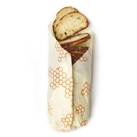 Bees Wrap Sustainable Storage Cloths - Bread Loaf Single Wrap