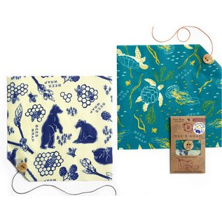 Wildlife Value Pack Oceans and Bees + Bears Print
