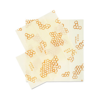 Bees Wrap Sustainable Food Storage - Assorted sizes 3 Pack