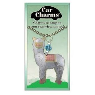 Alpaca Car Charm for Rearview Mirrors