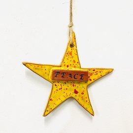 Ceramic Star Ornaments