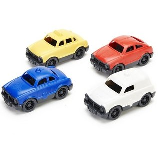 Green Toys - Pocket Sized Cars - Yellow