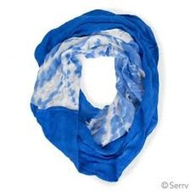 Blue Skies Forever Infinity Scarf