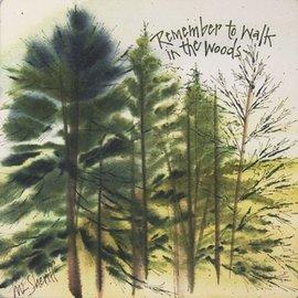 Coaster Stone Trivet - Remember the Woods