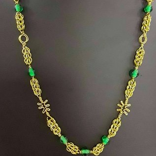 Chain Maille and Bead Necklaces