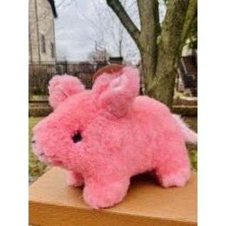 Alpaca Fur Pink Pig
