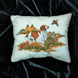 Brittany Spaniel Pillow
