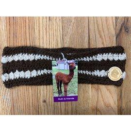 Hand Crocheted Alpaca Ear Warmer
