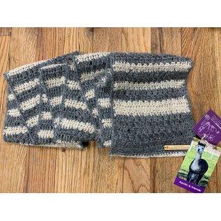 Hand Crocheted Alpaca Scarf