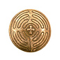 Pocket Prayers: Bronze Labyrinth, 1.5 in.