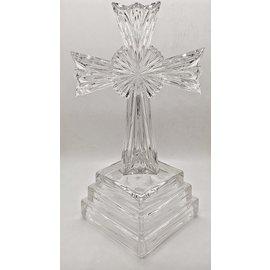 Lenox Cut Glass Design Cross - Used