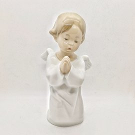 """Lladro Porcelain """"Angel Praying"""" - Used, Perfect  Condition with Box"""