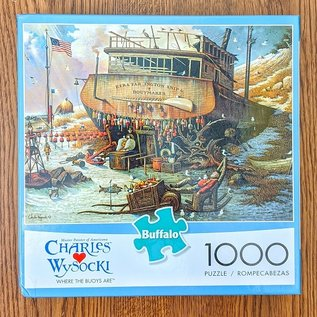 "Charles Wysocki ""Where the Buoys Are"" 1000 Piece Puzzle"