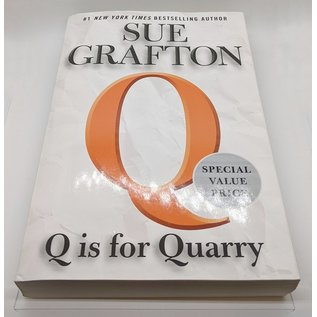 Q is for Quarry by Sue Grafton - Oversized Softcover Novel - Used