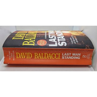 Last Man Standing by David Balducci - Oversized Softcover Novel - Used